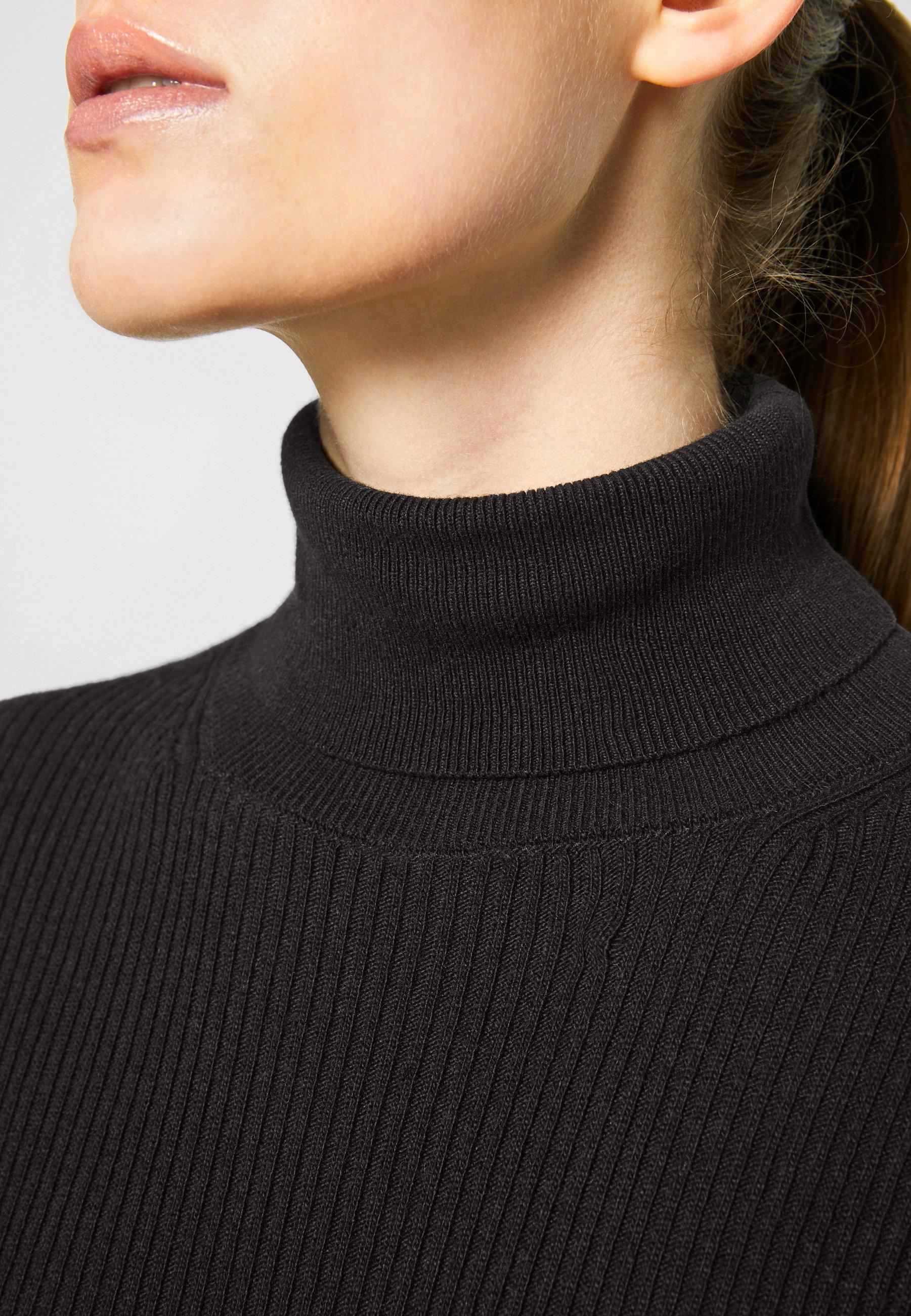 Mujer CHELSEA TURTLE NECK MIDI DRESS - Vestido de punto