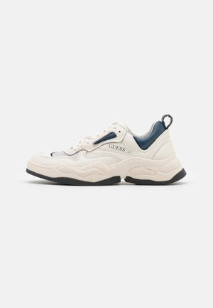 BASSANO - Sneakers basse - white/blue