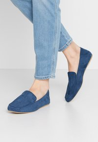 L37 WIDE FIT - DOLCE VITA - Slip-ons - navy blue - 0