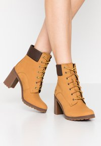 Timberland - ALLINGTON 6IN LACE UP - Schnürstiefelette - wheat - 0