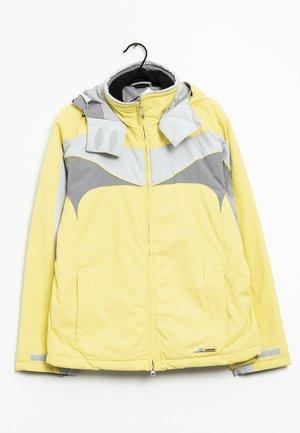 Outdoorjas - yellow/grey