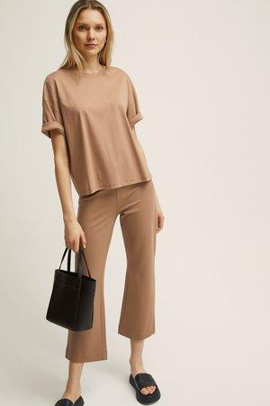 HANNAH  - Trousers - beige