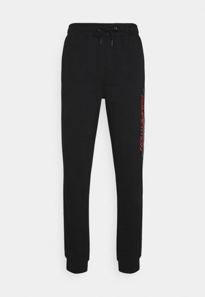 FIN - Tracksuit bottoms - black
