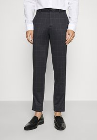 Lindbergh - CHECKED SUIT - Completo - black - 4