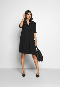 Soyaconcept - RADIA - Shirt dress - black - 1
