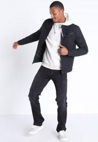 BONOBO Jeans - Veste en similicuir - black - 1