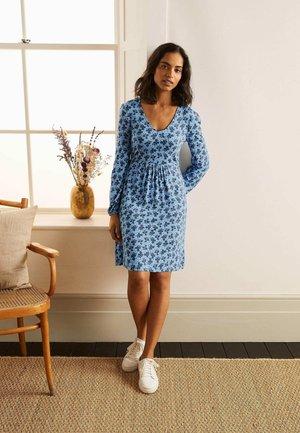 HATTIE - Jersey dress - blassblau, kleeblätter