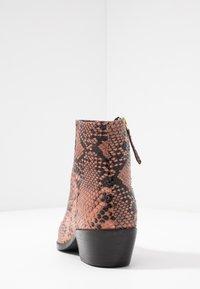 TWINSET - Ankelstøvler - pink mousse - 5