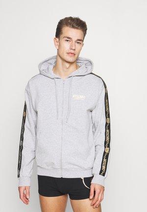 ZIPPED - Zip-up sweatshirt - grey