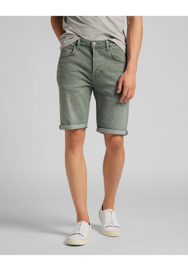 Jeansshorts - khaki