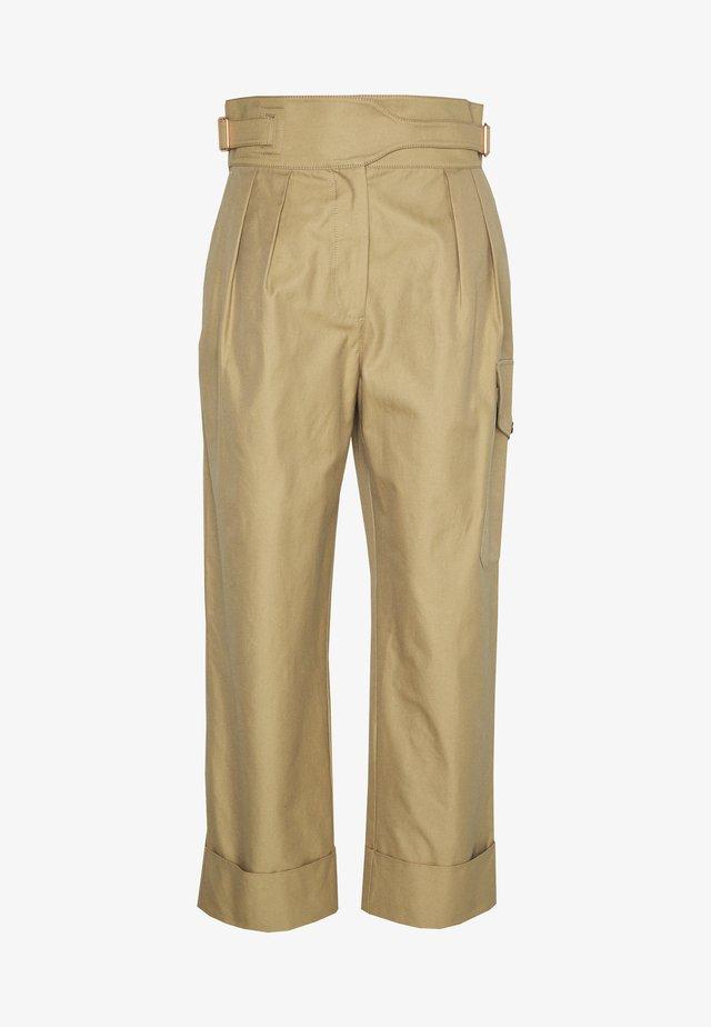 Pantalon classique - grove brown