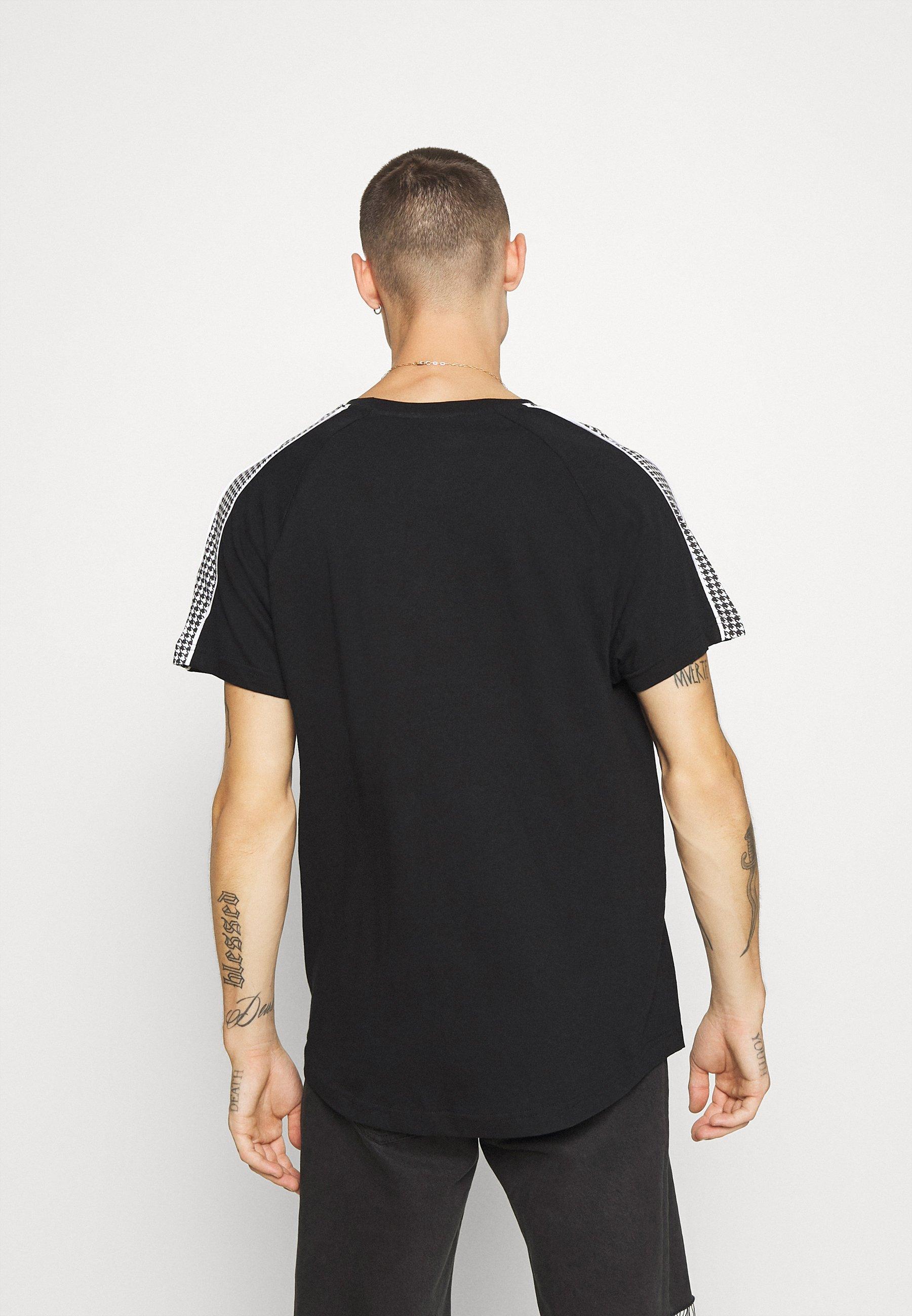 Brave Soul MASTIFF - Print T-shirt - black GlIg7