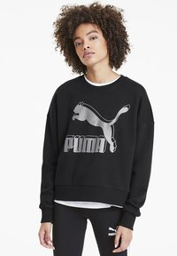 Puma - Sweatshirt - black-metallic silver - 0