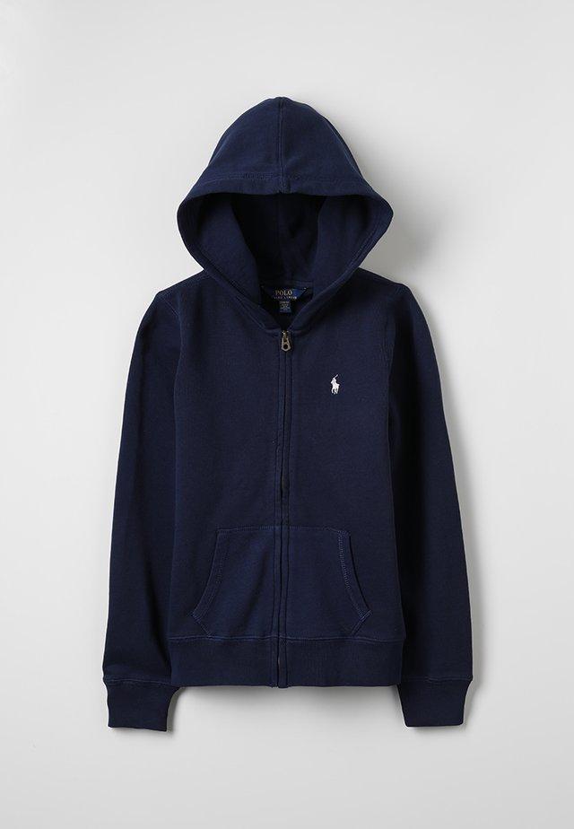 DRAPEY HOODIE - Zip-up hoodie - french navy