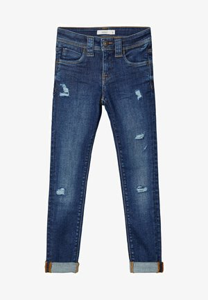 POWERSTRETCH - Jeans Skinny Fit - dark blue denim