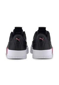 Puma - PUMA CARINA BOLD TRAINERS FEMALE - Sports shoes - black-puma black - 4