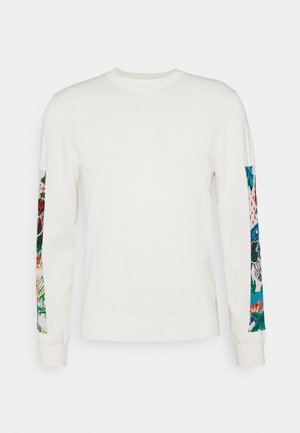 MENS CREW NECK - Jumper - offwhite