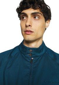 Ben Sherman - SIGNATURE HARRINGTON - Summer jacket - sea - 3
