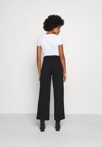 JDY - JDYGEGGO NEW LONG PANT - Bukser - black