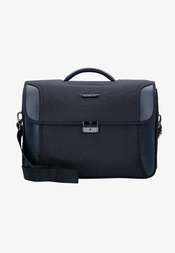 Briefcase - dark blue