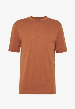 CREW  - Jednoduché triko - rust