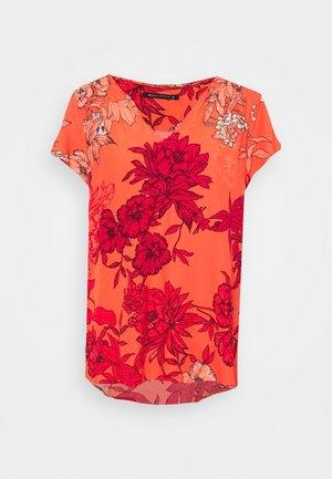 FRANCIEN - Print T-shirt - coral