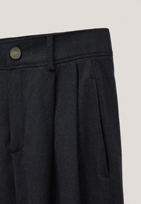 Massimo Dutti - AUS BAUMWOLLE IM BARREL-FIT  - Broek - dark blue - 5