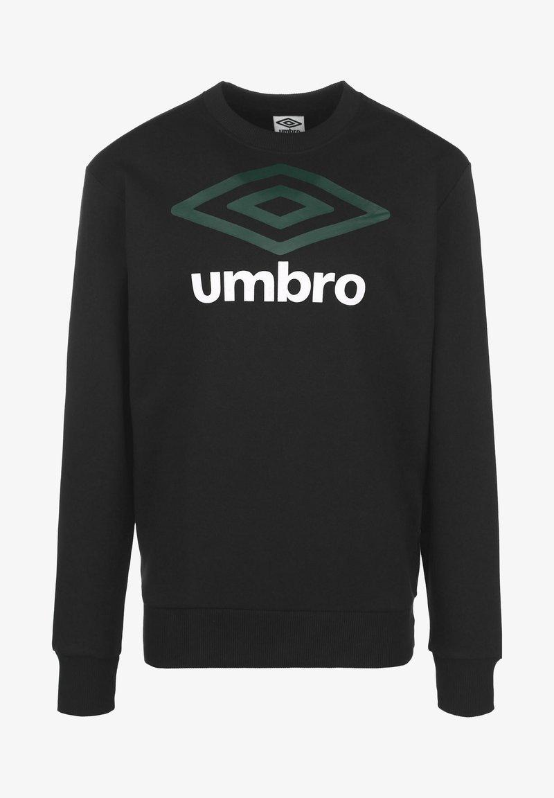 Umbro - Sweatshirt - black/botanical garden/brilliant white