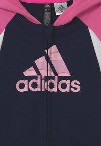 adidas Performance - UNISEX - Sportovní bunda - pink/dark blue - 2