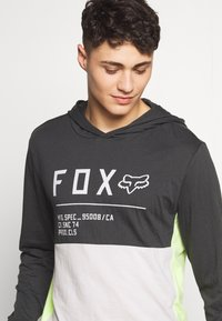 Fox Racing - NON STOP HOODED - Langarmshirt - black vintage - 4
