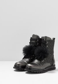 Primigi - Šněrovací kotníkové boty - asfalto/nero - 3
