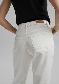 Esprit - Straight leg jeans - off white - 5