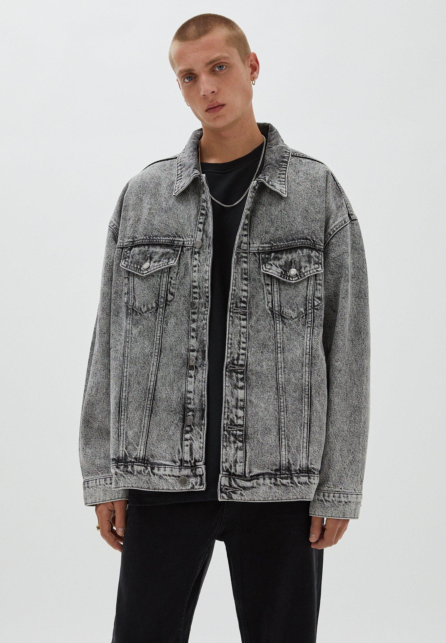 Uomo Giacca di jeans
