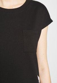 DKNY - FOUNDATION LOGO DRESS - Day dress - black - 5