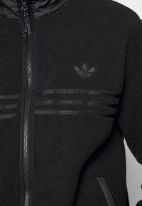 adidas Originals - ZIP THRU - Fleece jacket - black - 6