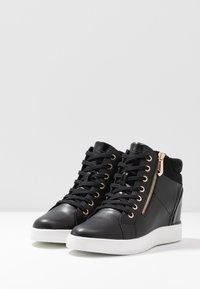 ALDO Wide Fit - AILANNA WIDE FIT - Sneakers basse - black - 4