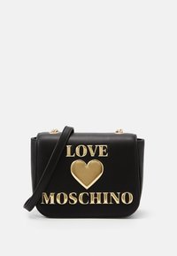 Love Moschino - BORSA - Across body bag - black - 1