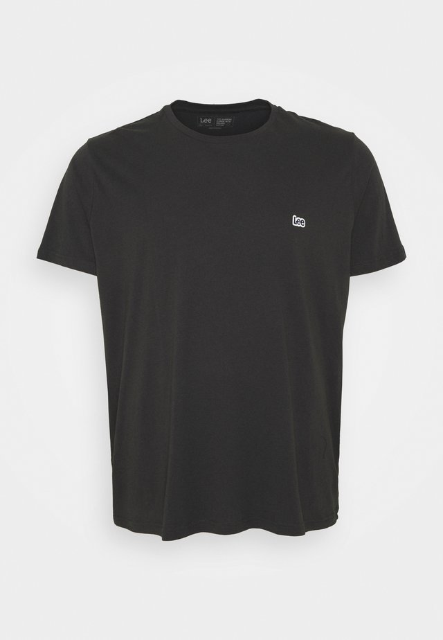 PATCH LOGO TEE - T-shirt basic - washed black