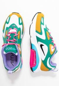 Nike Sportswear - AIR MAX 200 - Sneaker low - mystic green/white/gold/light current blue/pink blast/medium violet - 3