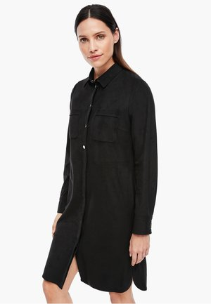 Shirt dress - true black