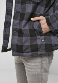 Brandit - LUMBER - Light jacket - black/grey - 3