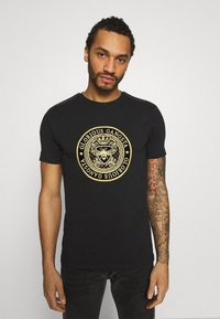 Glorious Gangsta - BERTO TEE - T-shirt con stampa - black - 0