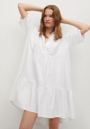 HOLIDAY-H - Day dress - bílá