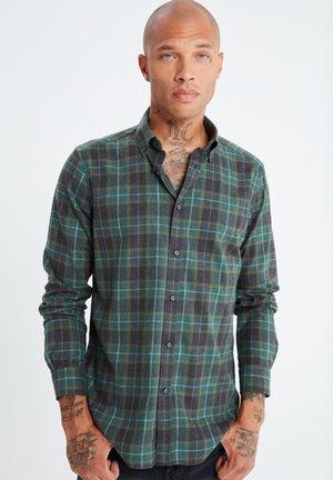 Shirt - dunkelgrã¼n