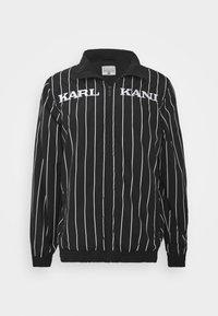 Karl Kani - RETRO PINSTRIPE TRACK JACKET - Veste légère - black - 3