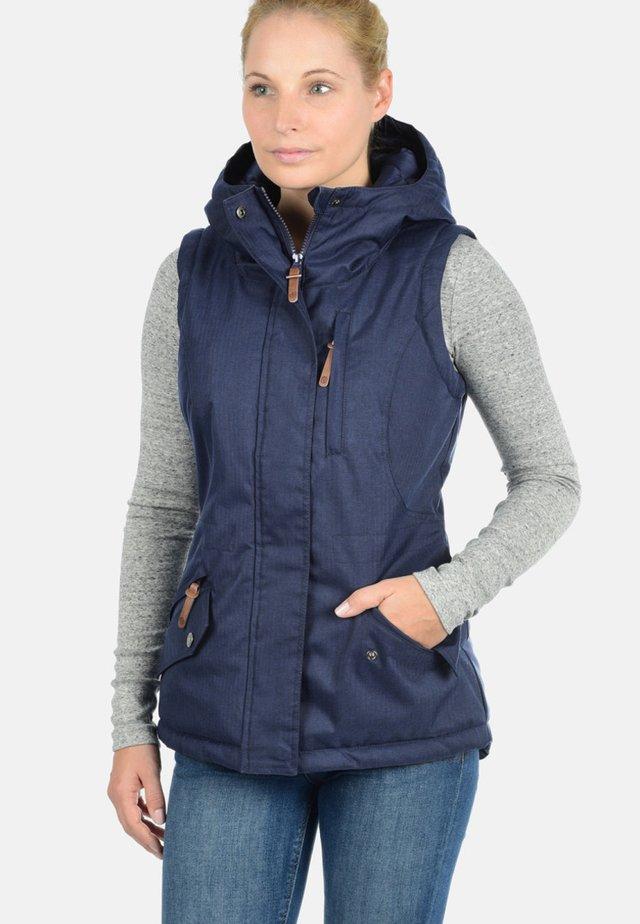 BELISSA - Waistcoat - blue