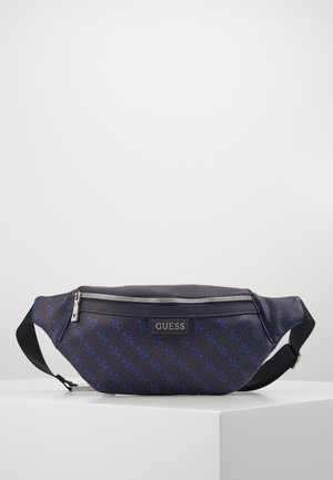 DAN LOGO BUM BAG - Bum bag - blue