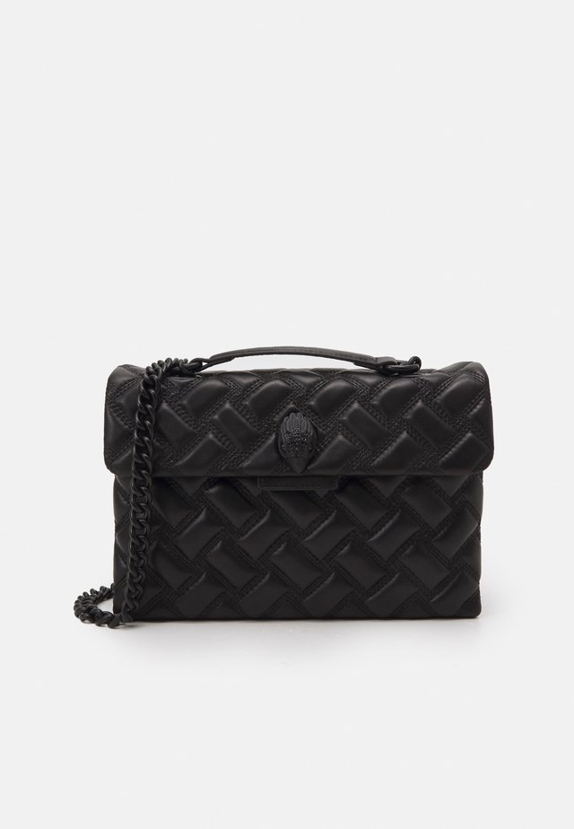 KENSINGTON BAG DRENCH - Axelremsväska - black