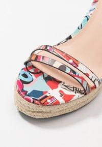Even&Odd - Korolliset sandaalit - multicolor - 2
