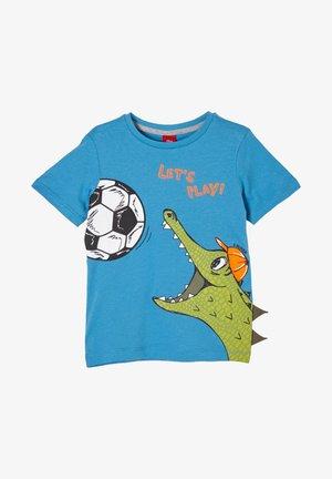 MIT MOTIVPRINT - Print T-shirt - turquoise